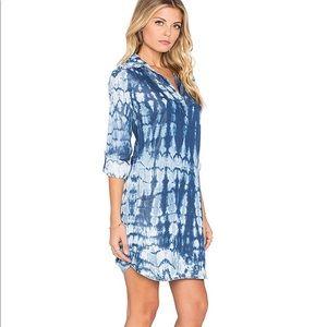 Splendid Indigo Tiedye Dress Size Medium